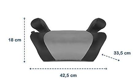 Grau Lionelo Luuk Kindersitzerh/öhung 15-36 kg Kindersitz mit BeltHold System