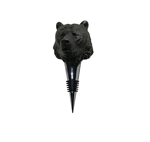 Iron & Glory Bear Wine Bottle Stopper - Guys Coachella