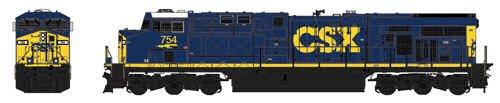 ■【カトー】(176-8907)(N)ES44AC CSX Dark Future 塗色 #754 鉄道模型 KATO(外国車両)の商品画像