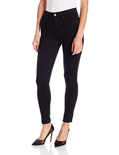 Levi's Women's 721 High Rise Skinny Jean, Soft Black, 33 (US 16) R