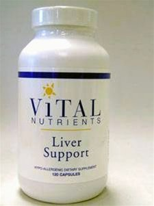 Vital Nutrients Liver Support - 120 Capsules
