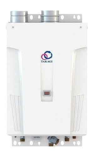 Takagi T-H2S-OSNG 8.0 GPM Outdoor Condensing Tankless Water Heater Natural Gas Max by TAKAGI