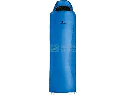 Saco dormir Ferrino Lightec SSQ 950 +5C sintetico azul cremallera izquierda
