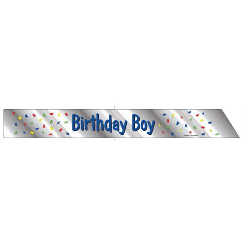 Detail Sash - Creative Converting Birthday Boy Child Sash