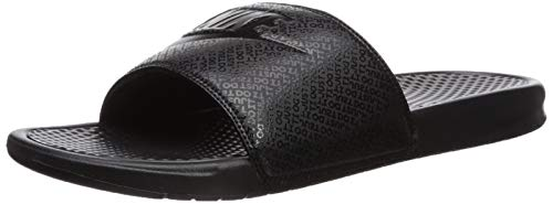 Nike Men's Benassi Just Do It Athletic Sandal, Black, 12 D(M) US ()