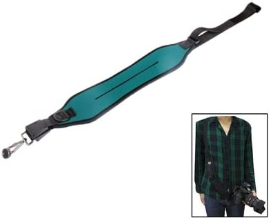 Yhuisen Anti-Slip Elastic Neoprene Straightaway Sling Strap for Camera Color : Deep Green