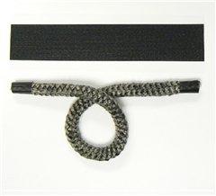 Pyrojoints 901, Thin Black Binding Tape, per 20 cm Piece