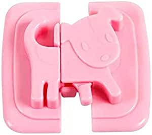 Safety lock for baby pink color