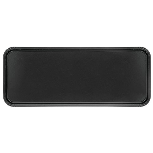 HUBERT Bakery Tray Meat Tray Market Tray In Black Fiberglass - 25 1/2