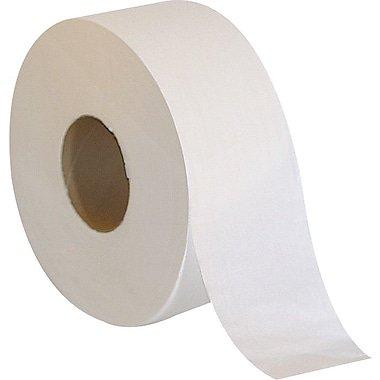 Bath Tissue Jumbo 2-ply 12/CTN 3.5'' x 1000' L/Roll Bath Tissue 1000/2 Ply
