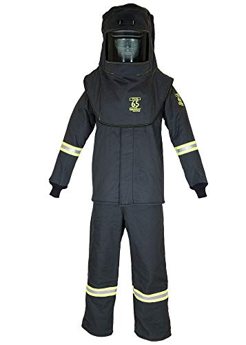 TCG65 Series Arc Flash Hood, Coat, & Bib Suit Set