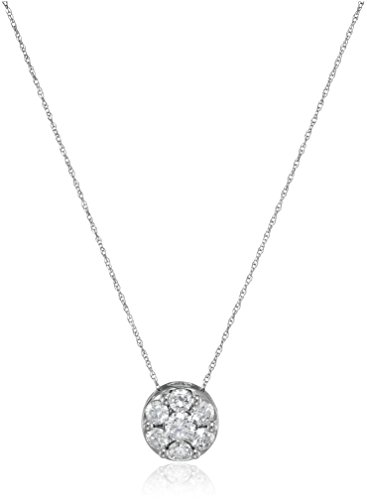 Diamond Chain Pendant Necklace Clarity