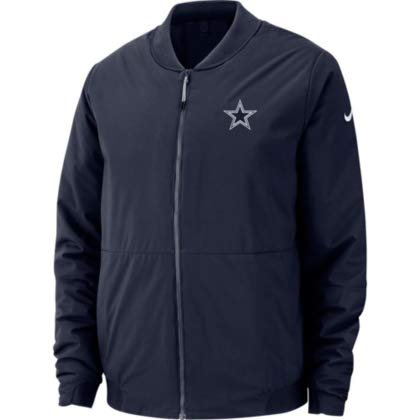 cheap for discount 8d62f 2a706 Amazon.com : Dallas Cowboys Nike Bomber Jacket : Clothing