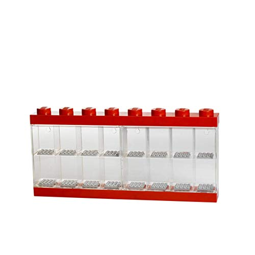 LEGO Minifigure 16 Display Case, Large, Red ()