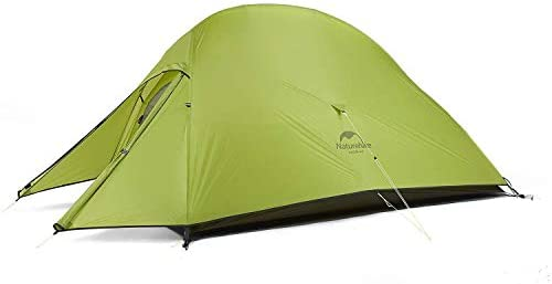 Naturehike Cloud-Up 2 Person Lightweight Backpacking Waterproof Tent Easy Setup - 4 Season for Outdoor Camping,Backpacking,Hiking,Mountaineering Travel