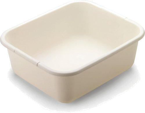 Rubbermaid 2951-AR BISQUE 11.4 QT Bisque Dish Pan (2-Pack) (Rubbermaid Cookware)