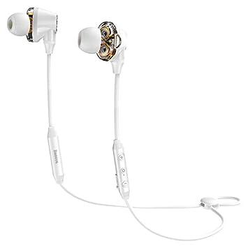 Mobilez S10 Auricular Bluetooth Auriculares inalámbricos Resistente al Agua IPX5 Fone de ouvido Bluetooth Auriculares con Banda para el Cuello Sport con ...