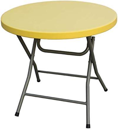 mesa plegable, Mesa Redonda PequeñA Y Simple, Mesa para El Hogar ...