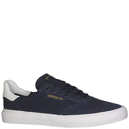 adidas Skateboarding Men's 3MC Collegiate Navy/White/Collegiate Navy (Suede) 9.5 D US