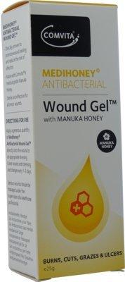 MEDIHONEY antibakterielles Wundgel Comvita 25 g Gel