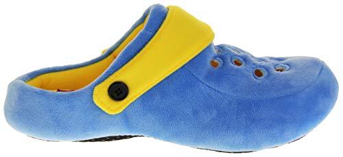Donna Dunlop Zoccoli Invernali Di Pantofole Blu giallo Leggere 77FdwWqtxr