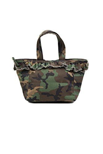 Mia Bag Borsa a Spalla Camouflage con Rouches