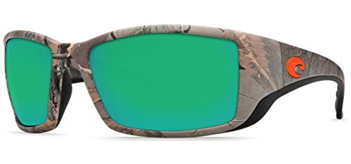 Costa Del Mar Blackfin Sunglasses Realtree Xtra Camo/Green Mirror - Costa Del Camo Mar Glasses