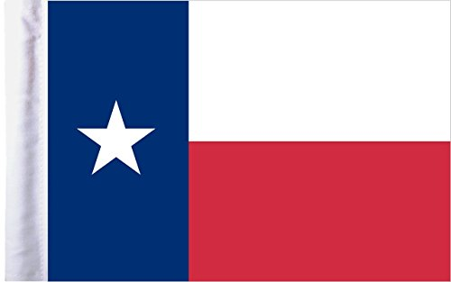 Pro Pad Texas Motorcycle Flag, 6 by - Blend Motorcycle