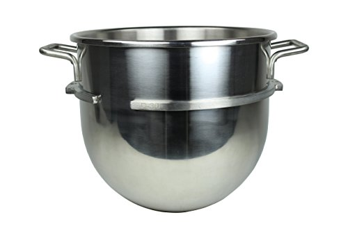 Foodservice Essentials (FS-AF30BW) Mixing Bowl Attachment for Hobart D300 Mixers (30-Quart, Stainless) 30 Quart Mixer Bowl