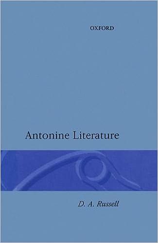 Antonine Literature