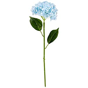 PARTY JOY 5PCS Artificial Hydrangea Silk Flowers Bouquet Faux Hydrangea Stems for Wedding Centerpieces Home Decor 115