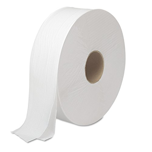 Boardwalk Jumbo JRT Bathroom Tissue - 2 Ply - 3.30 x 2000 ft