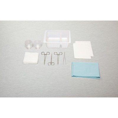 Medline DYNDL1024SF Standard Laceration Tray (Pack of 20)