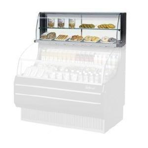 Refrigerated Open Display Merchandiser (TOMD75HB 75 Non Refrigerated Top Case for Open Display Merchandiser: Slim Line Black)