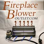 Fireplace Blower with Power Cord Fbo-75 For Sale