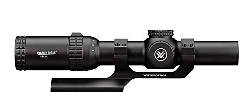 Vortex Optics Strike Eagle 1-6×24 Second Focal Plane Riflescope – BDC Reticle (MOA) with Sport Cantilever 30mm Mount – 2-Inch Offset For Sale