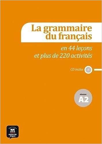 Grammaire Du Francais A2 Livre French Edition Maison Des