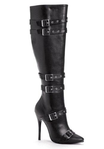 Ellie Chaussures Femmes 516-lexi Noir Pu Bottes 5 B (m) Us