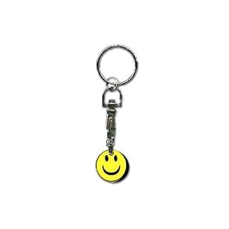 Cara sonriente carro Llavero: Amazon.es: Hogar
