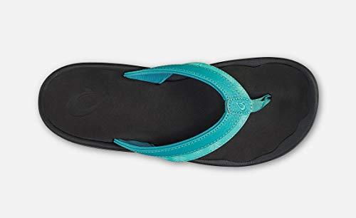 OLUKAI Black Paradise Ohana Sandals Women's X8COqX