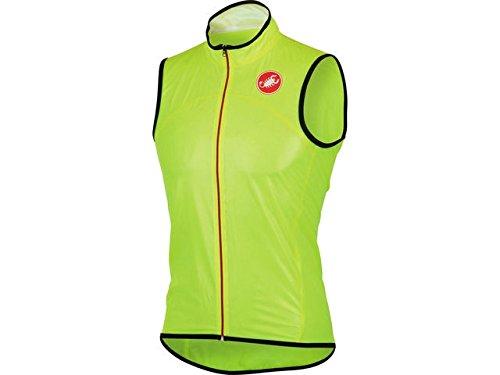 Castelli Sottile Due Vest Yellow Fluo Size XL ()
