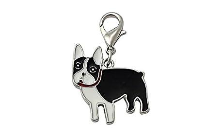 OHA de PET Bulldog Francés Charm - French Bulldog llavero en ...