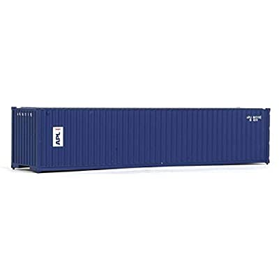 Walthers SceneMaster HO Scale Model of American President Lines 40' Corrugated Container, Model:949-8157: Toys & Games