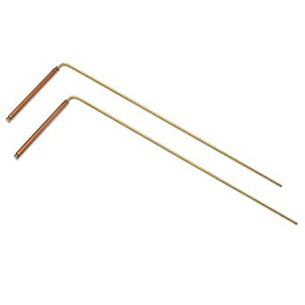 Dowsing Rods- One Pair of Beautifully Crafted divining rods for Seeking  Treasure, Water, Oil, or Anything Else, by American Heritage Industries