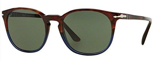 Persol 3007S 102231 Fuoco E Ardesia 3007S Wayfarer Sunglasses Lens Category - Sunglasses Oceano