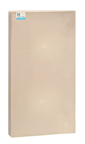 Sealy-Soybean-Serenity-Foam-Core-InfantToddler-Crib-Mattress-Hypoallergenic-Soy-Foam-Extra-Firm-Plastic-Free-Cover-with-Organic-Fibers-Waterproof-Allergy-Barrier-52x28