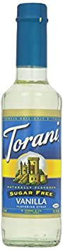 Torani Sugar Free Vanilla Syrup 12.7 Ounce 0