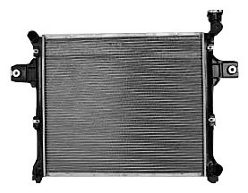 TYC 2839 Jeep Grand Cherokee 1-Row Plastic Aluminum Replacement Radiator