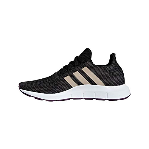 De White Swift Run Pearl Femme ash Gymnastique White Adidas core Chaussures ftwr Noir S18 W Black Core 1xBqnSp