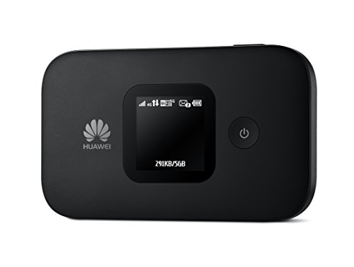Huawei E5577Cs-321 150 Mbps 4G LTE & 43.2 Mpbs 3G Mobile WiFi Hotspot (4G LTE in Europe, Asia, Middle East, Africa & 3G globally) (Black)